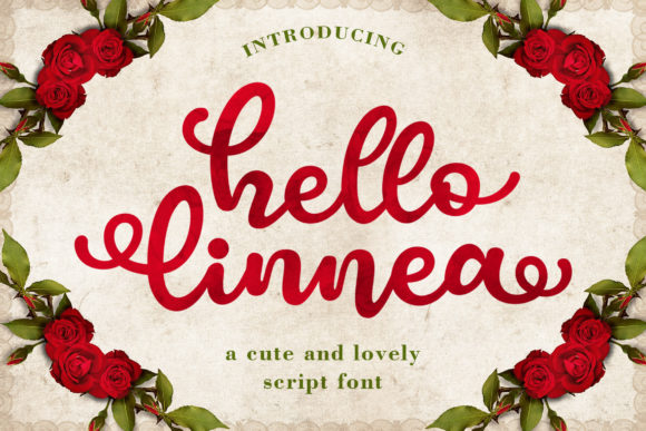 Hello Linnea Font By Subectype Image 1
