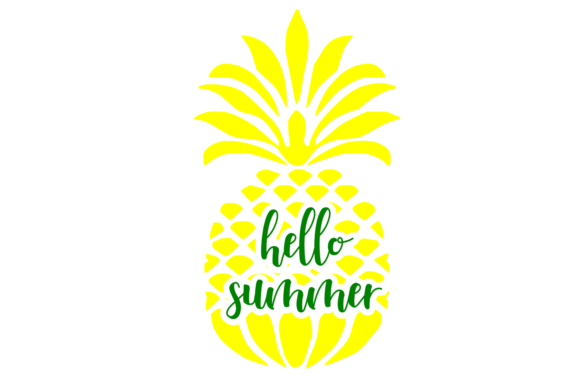 Print on Demand: Hello Summer Digital SVG Graphic Crafts By Auntie Inappropriate Designs