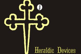 Print on Demand: Heraldic Devices Dingbats Font By Intellecta Design