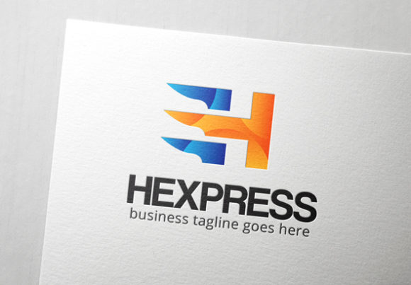 Download Free Hexpress Letter H Logo Graphic By Slim Studio Creative Fabrica for Cricut Explore, Silhouette and other cutting machines.