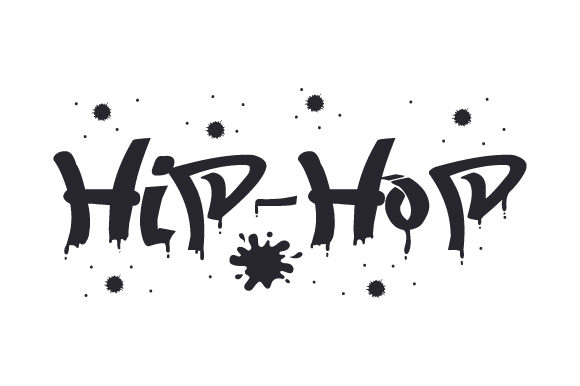 Hip-Hop Music Craft Cut File By Creative Fabrica Crafts