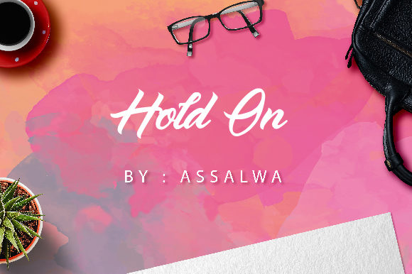 Print on Demand: Hold on Script & Handwritten Font By assalwaassalwa