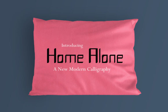 Print on Demand: Home Alone Serif Font By designgoe - Image 1