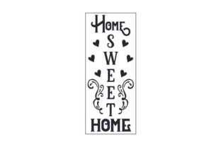 Home Sweet Home Porch Signs Craft Cut File By Creative Fabrica Crafts