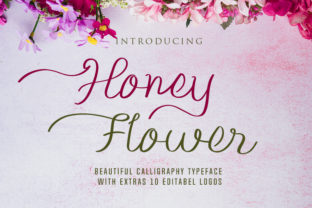 Honey Flower Font By MJB Letters