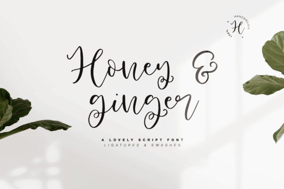 Print on Demand: Honey & Ginger Manuscrita Fuente Por Dmitrii Chirkov