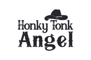 Honky Tonk Angel Craft Design By Creative Fabrica Crafts