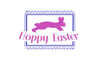 Hoppy Easter Svg Graphic By summersSVG