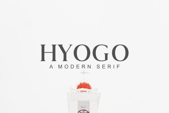 Print on Demand: Hyogo Serif Font By Creative Tacos - Image 1