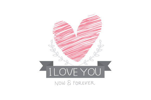 Download Free I Love You Greeting Text Graphic By Si Jalembe Creative Fabrica for Cricut Explore, Silhouette and other cutting machines.