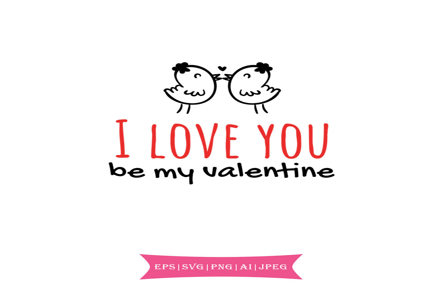 Download Free I Love You Valentines Day Svg Graphic By Summerssvg Creative for Cricut Explore, Silhouette and other cutting machines.