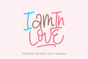 Print on Demand: I Am in Love Gráfico Crafts Por Momentos Crafter
