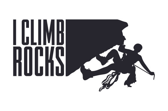 Download Free I Climb Rocks Svg Cut File By Creative Fabrica Crafts Creative for Cricut Explore, Silhouette and other cutting machines.