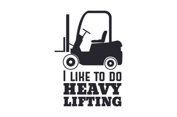 Download Free I Like To Do Heavy Lifting Svg Cut File By Creative Fabrica for Cricut Explore, Silhouette and other cutting machines.