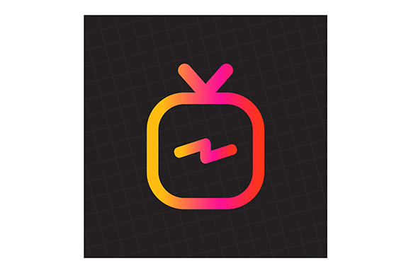 Download Free Igtv Logo For Instagram Graphic By Indostudio Creative Fabrica SVG Cut Files