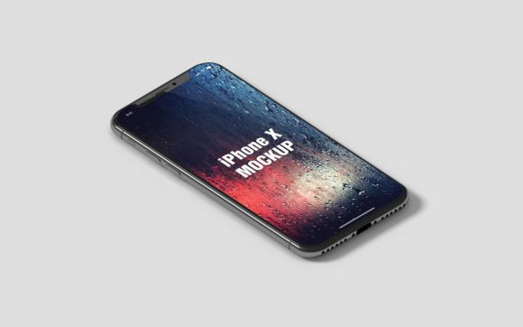 IPhone X Isometric Mockup Graphic By graphiccrew Image 2