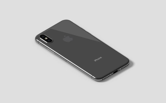 IPhone X Isometric Mockup Graphic By graphiccrew Image 3