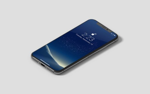 IPhone X Isometric Mockup Graphic Product Mockups By graphiccrew - Image 4