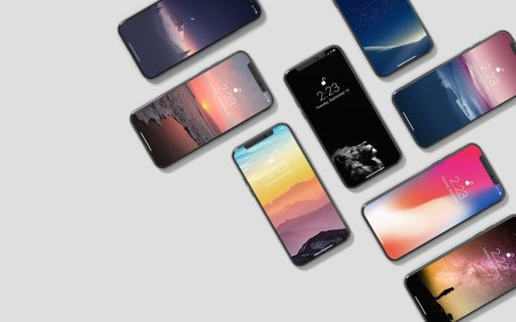 IPhone X Isometric Mockup Graphic By graphiccrew Image 7