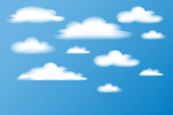 Illustration Clouds in the Sky Graphic By sabavector