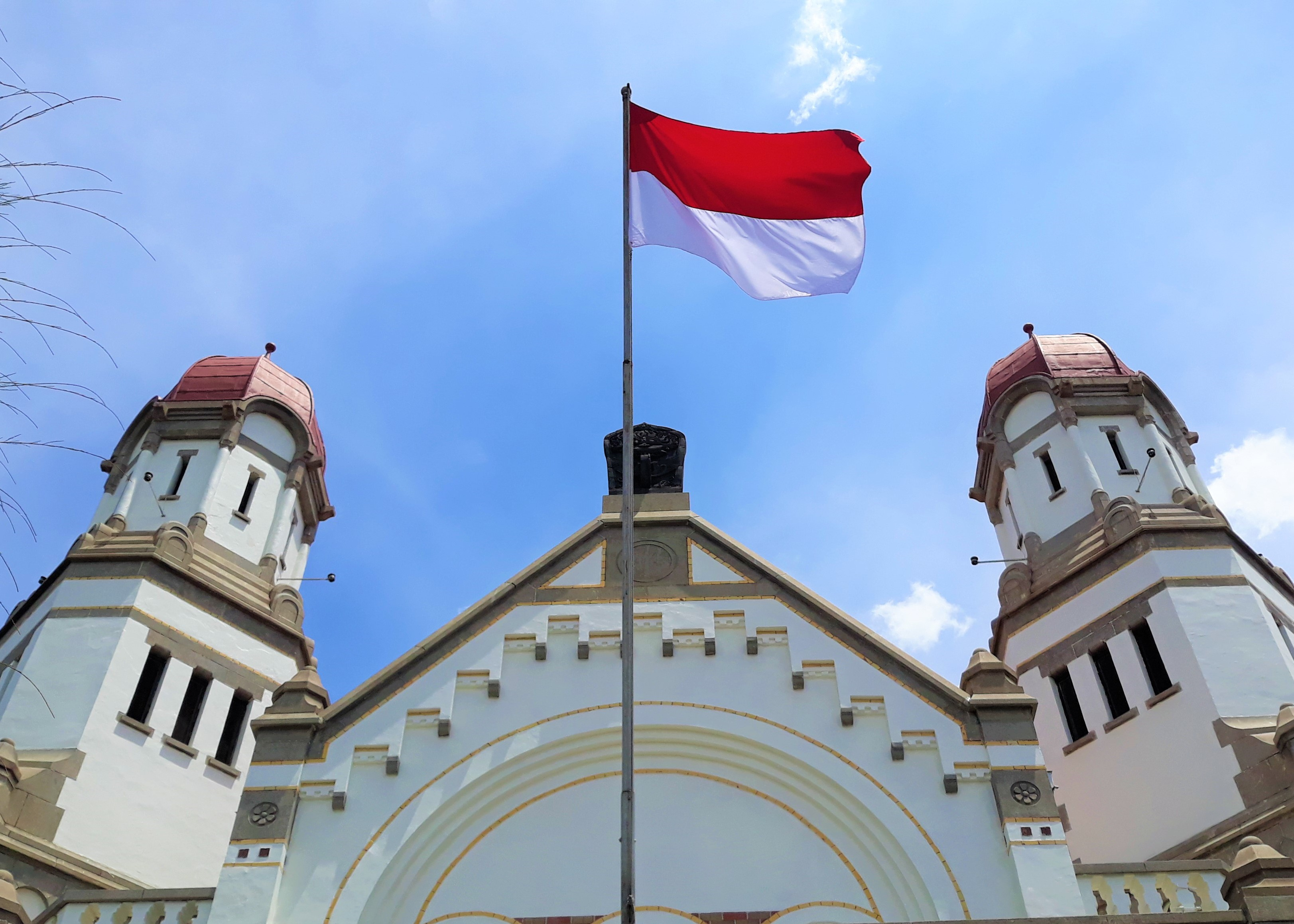 Indonesian Flag Graphic By Iconprojects Creative Fabrica