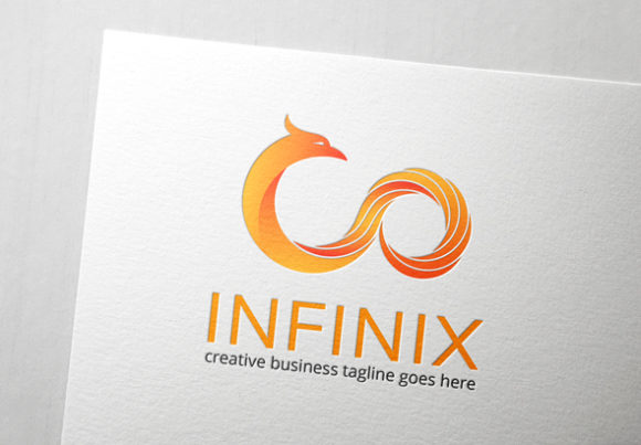 Download Free Infinity Phoenix Logo Graphic By Slim Studio Creative Fabrica for Cricut Explore, Silhouette and other cutting machines.