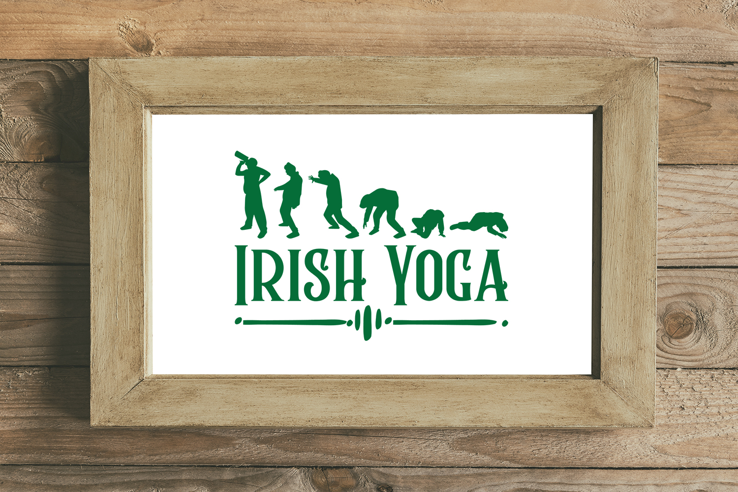 Download Free Irish Yoga St Patrick S Day Svg Graphic By Summerssvg for Cricut Explore, Silhouette and other cutting machines.