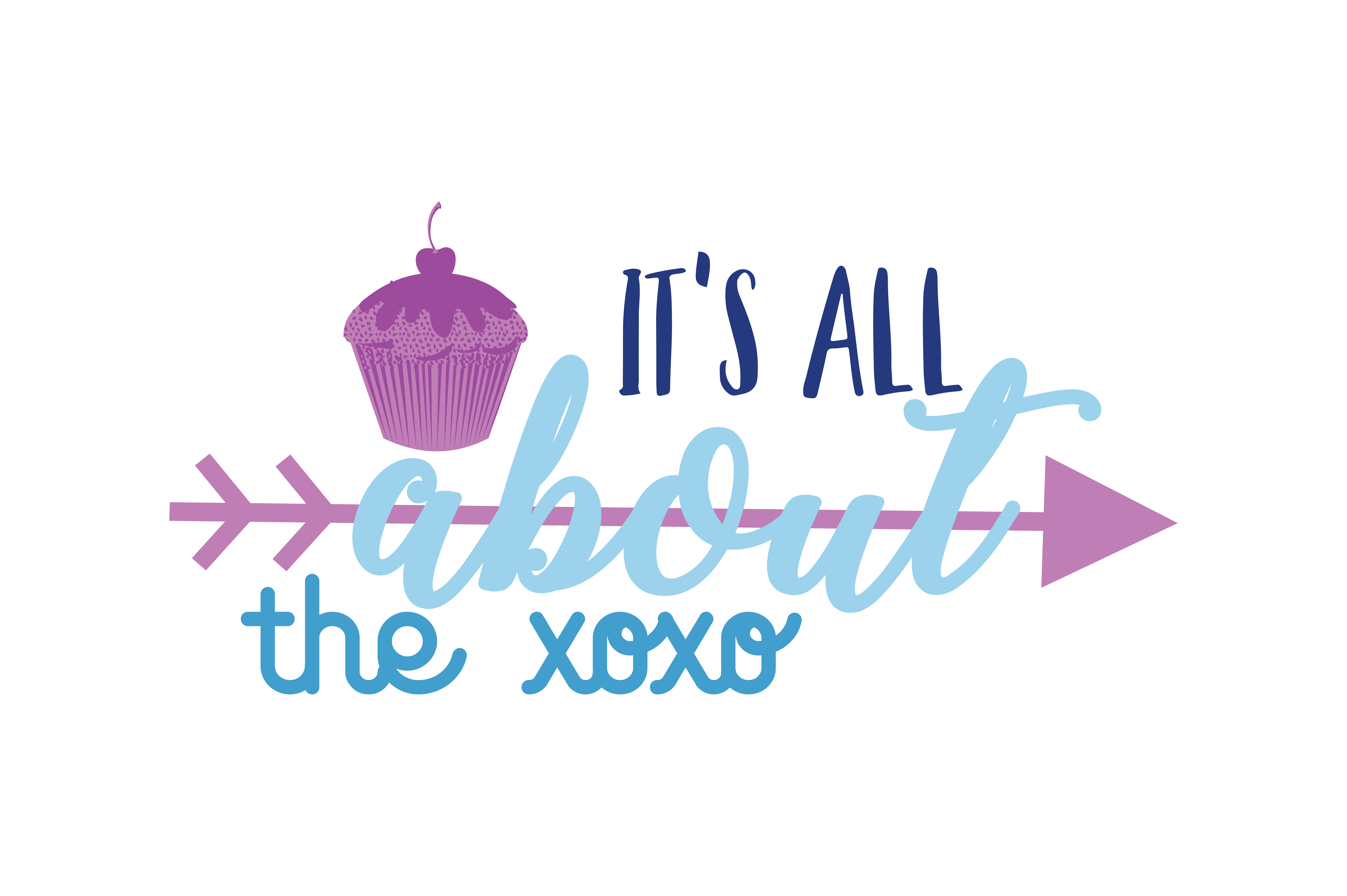 Download Free It S All About The Xoxo Quote Svg Cut Graphic By Thelucky for Cricut Explore, Silhouette and other cutting machines.