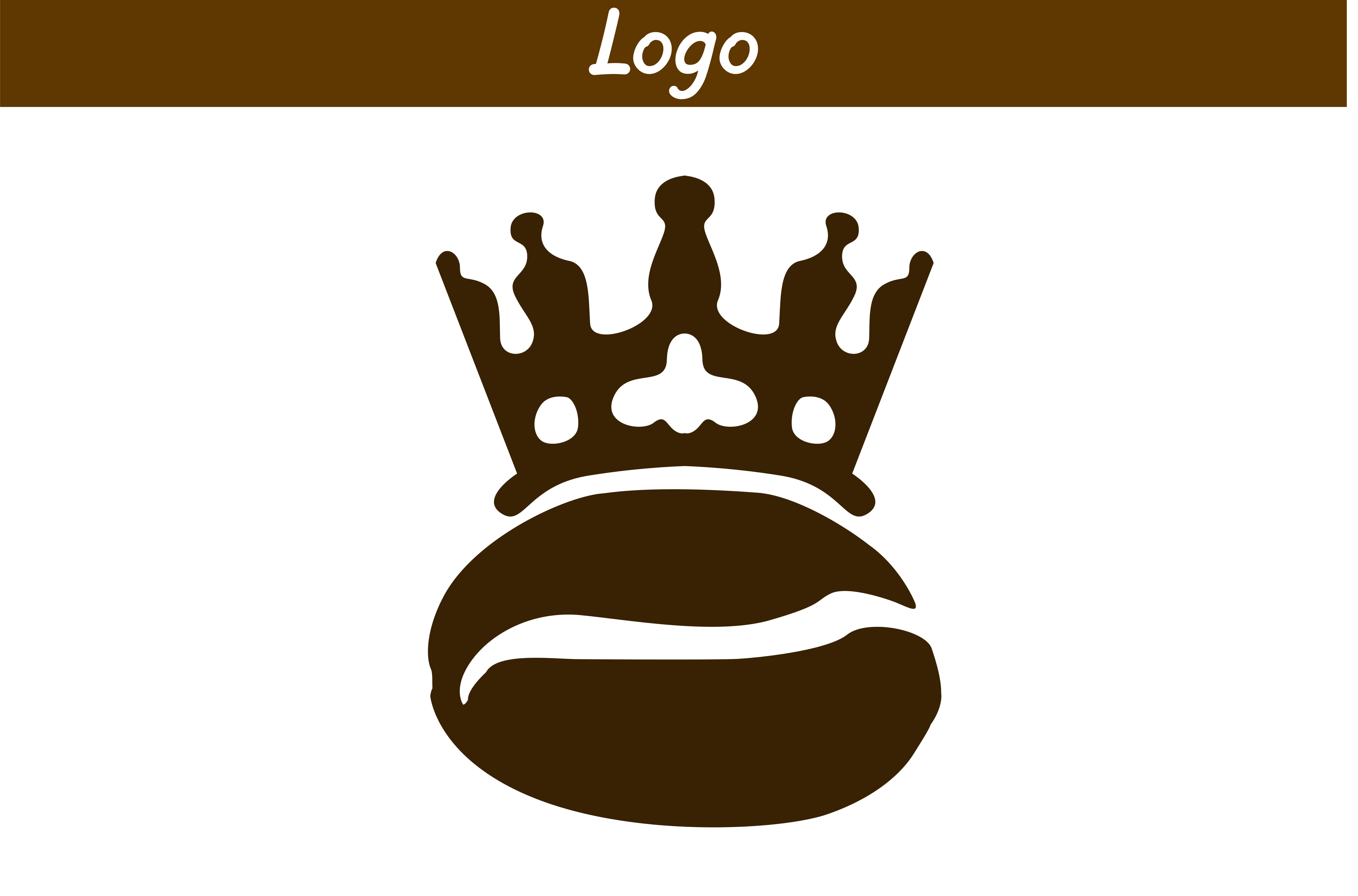 Download Free King Coffee Logo Graphic By Arief Sapta Adjie Creative Fabrica for Cricut Explore, Silhouette and other cutting machines.