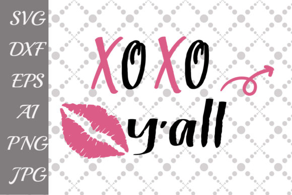 Download Free Kiss Lips Xo Xo Graphic By Prettydesignstudio Creative Fabrica for Cricut Explore, Silhouette and other cutting machines.