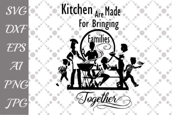 Download Free Kitchen Graphic By Prettydesignstudio Creative Fabrica for Cricut Explore, Silhouette and other cutting machines.
