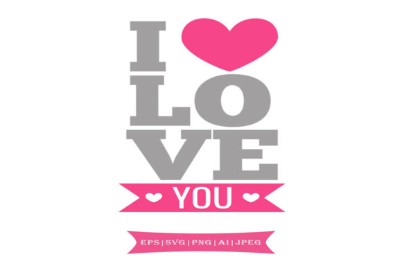 Print on Demand: L<3ve You Valentines Day Svg Graphic Crafts By summersSVG - Image 1