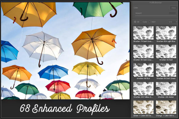 Download Free Lens Black White Filters Profiles Grafico Por Raztrend for Cricut Explore, Silhouette and other cutting machines.