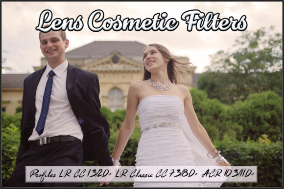 Lens Cosmetic Filters Profiles Graphic Actions & Presets By Raztrend