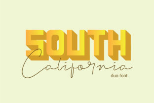 Print on Demand: Lethal Markwell Duo Sans Serif Font By Gumacreative 2