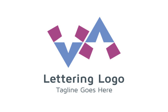 Download Free Lettering Vv Logo Graphic By Acongraphic Creative Fabrica for Cricut Explore, Silhouette and other cutting machines.