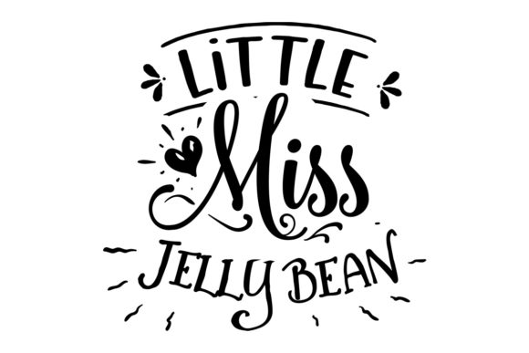 Little Miss Jellybean Easter Craft Cut File By Creative Fabrica Crafts