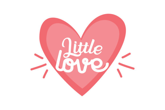 Little Love Quote Svg Cut Graphic By Thelucky Creative Fabrica