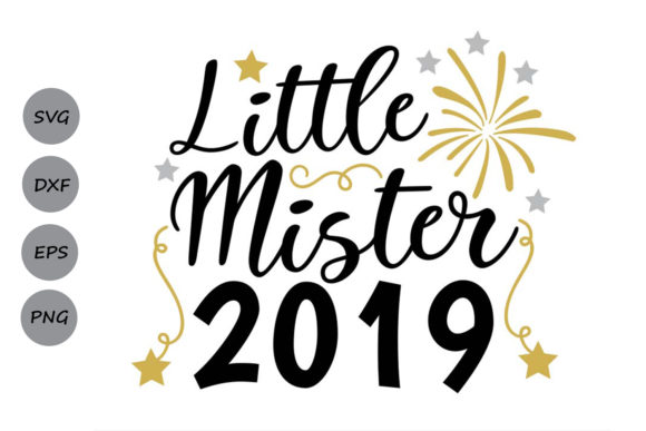Download Free Little Mister 2019 Svg Graphic By Cosmosfineart Creative Fabrica for Cricut Explore, Silhouette and other cutting machines.