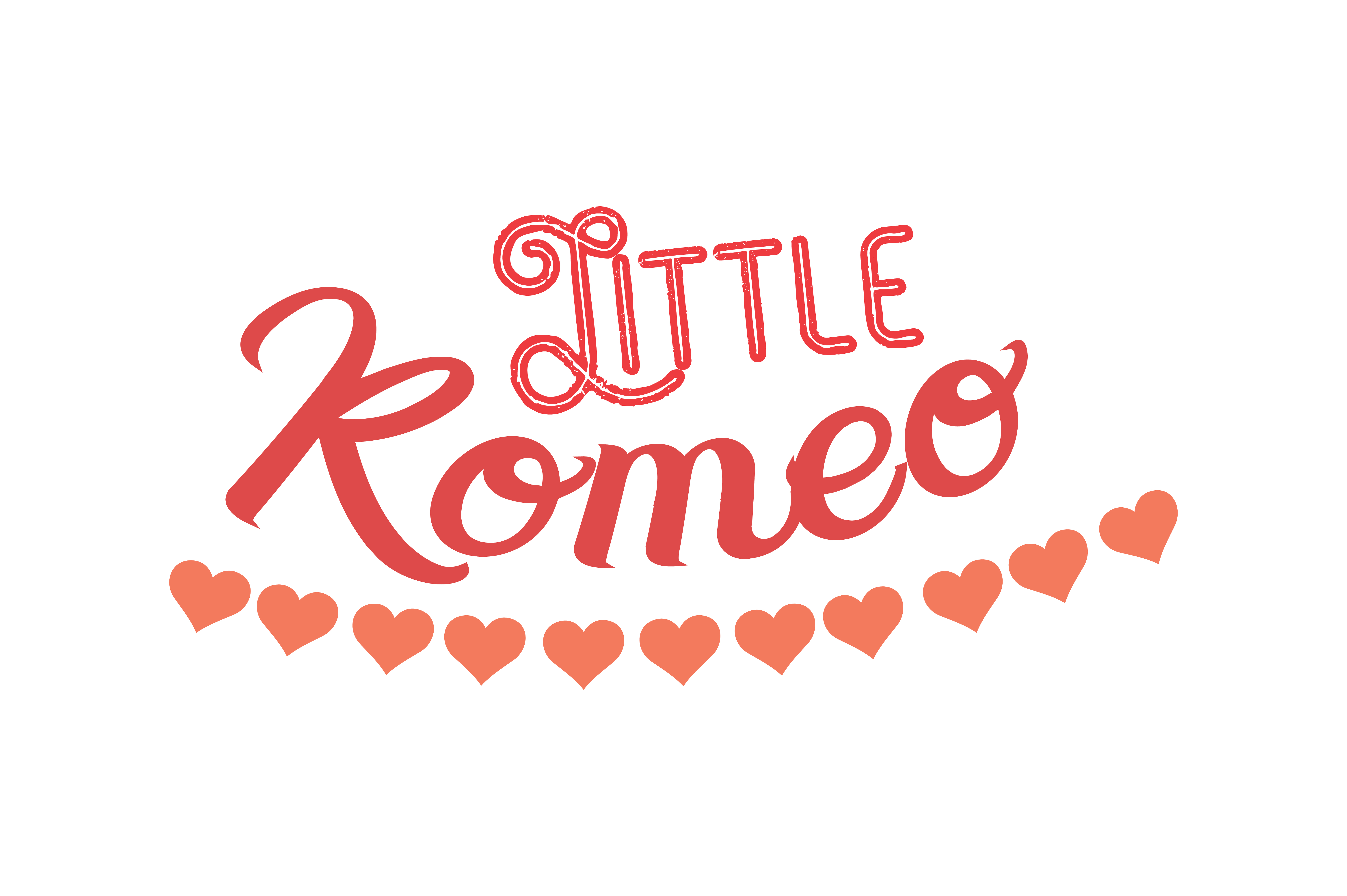 Download Free Little Romeo Quote Svg Cut Graphic By Thelucky Creative Fabrica for Cricut Explore, Silhouette and other cutting machines.