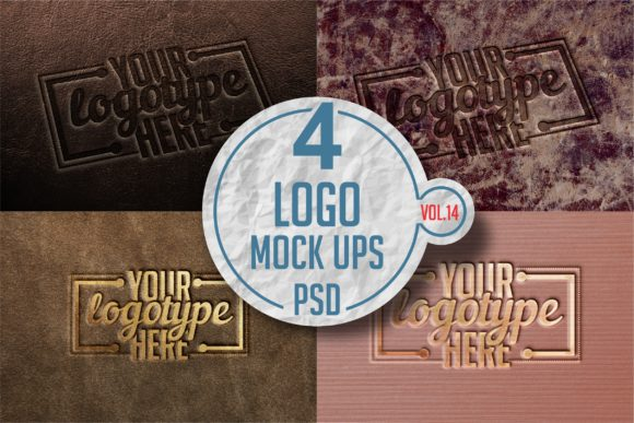 Print on Demand: Logo Mock-up Pack 14 Graphic Product Mockups By bywahtung