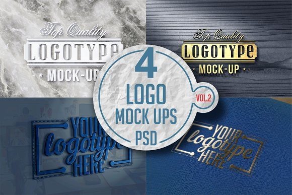 Print on Demand: Logo Mock-up Graphic Product Mockups By bywahtung