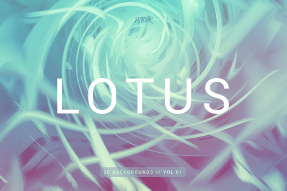 Lotus Colorful Spiral Backgrounds Graphic By dvtchk