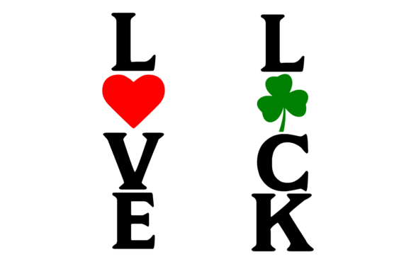 Download Free Love Luck Porch Plank Svg Graphic By Auntie Inappropriate for Cricut Explore, Silhouette and other cutting machines.