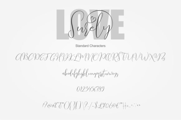 Love Surely Font By BonjourType Image 4