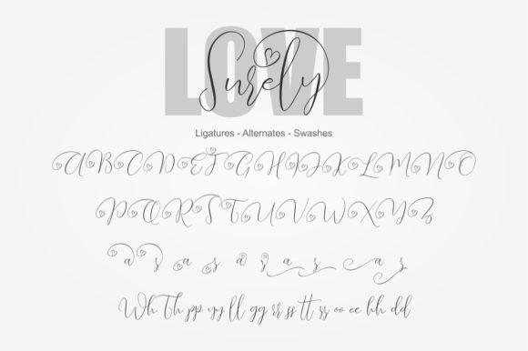 Love Surely Font By BonjourType Image 5