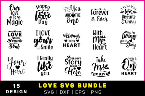 The Valentine Love Quote Pack
