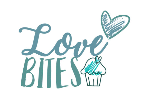 Download Free Love Bites Quote Svg Cut Graphic By Thelucky Creative Fabrica for Cricut Explore, Silhouette and other cutting machines.