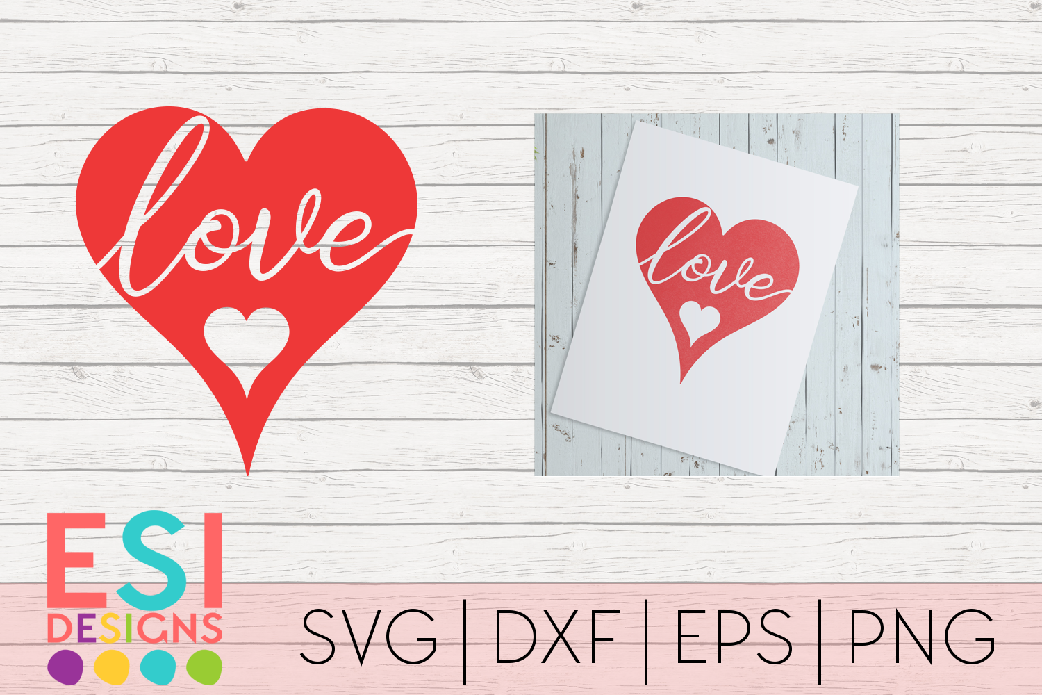 Download Free Love In Heart Design Valentine S Day Svg Graphic By Esi for Cricut Explore, Silhouette and other cutting machines.