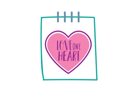 Download Free Love One Heart Quote Svg Cut Graphic By Thelucky Creative Fabrica for Cricut Explore, Silhouette and other cutting machines.